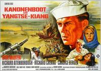 The Sand Pebbles - 11 x 17 Movie Poster - German Style A