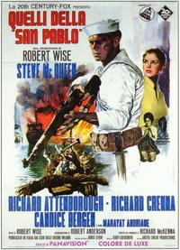 The Sand Pebbles - 11 x 17 Movie Poster - Italian Style A