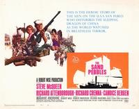 The Sand Pebbles - 22 x 28 Movie Poster - Half Sheet Style A