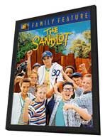 The Sandlot - 27 x 40 Movie Poster - Style C - in Deluxe Wood Frame