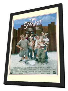 The Sandlot - 27 x 40 Movie Poster - Style A - in Deluxe Wood Frame