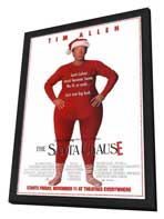 The Santa Clause - 27 x 40 Movie Poster - Style A - in Deluxe Wood Frame
