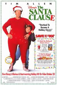 The Santa Clause - 27 x 40 Movie Poster - Style B