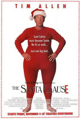 The Santa Clause - 27 x 40 Movie Poster - Style A