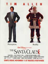 The Santa Clause - 27 x 40 Movie Poster - Style C