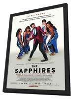 The Sapphires - 11 x 17 Movie Poster - Style A - in Deluxe Wood Frame