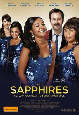 The Sapphires - 11 x 17 Movie Poster - Australian Style A