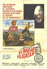 The Satan Bug - 11 x 17 Movie Poster - Spanish Style A