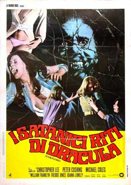 Count Dracula and His Vampire Bride - 27 x 40 Movie Poster - Italian Style B