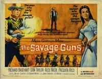 Savage Guns, The - 11 x 14 Movie Poster - Style A