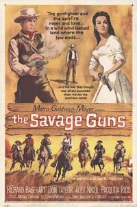 Savage Guns, The - 27 x 40 Movie Poster - Style A