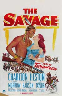The Savage - 11 x 17 Movie Poster - Style A