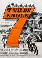 The Savage Seven - 11 x 17 Movie Poster - Danish Style A