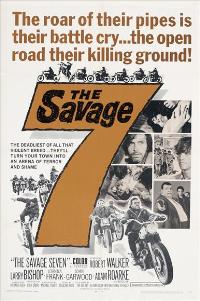 The Savage Seven - 11 x 17 Movie Poster - Style A