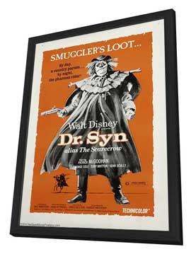 The Scarecrow of Romney Marsh - 27 x 40 Movie Poster - Style A - in Deluxe Wood Frame