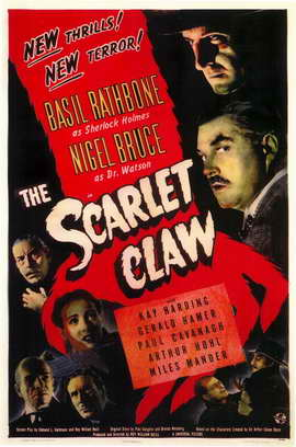 The Scarlet Claw - 11 x 17 Movie Poster - Style A