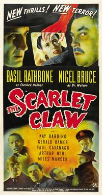 The Scarlet Claw - 14 x 36 Movie Poster - Insert Style B