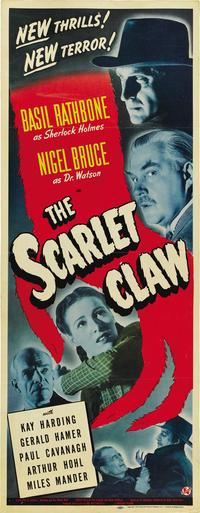 The Scarlet Claw - 11 x 17 Movie Poster - German Style N
