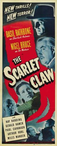The Scarlet Claw - 14 x 36 Movie Poster - Insert Style A