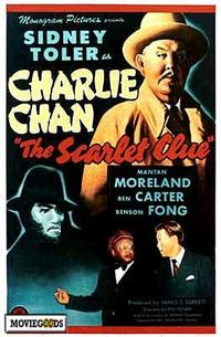 The Scarlet Clue - 27 x 40 Movie Poster - Style A