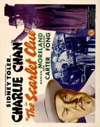 The Scarlet Clue - 22 x 28 Movie Poster - Half Sheet Style A