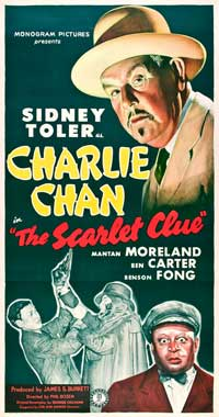 The Scarlet Clue - 20 x 40 Movie Poster - Style A