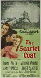 The Scarlet Coat - 20 x 40 Movie Poster - Style A