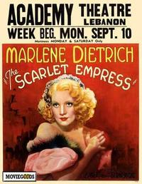 The Scarlet Empress - 27 x 40 Movie Poster - Style B