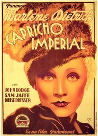 The Scarlet Empress - 27 x 40 Movie Poster - Spanish Style A