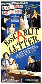 The Scarlet Letter - 11 x 17 Movie Poster - Style B