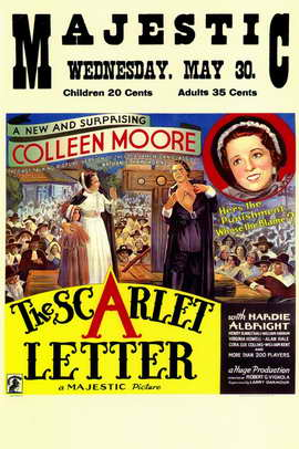 The Scarlet Letter - 11 x 17 Movie Poster - Style A