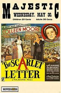 The Scarlet Letter - 43 x 62 Movie Poster - Bus Shelter Style A