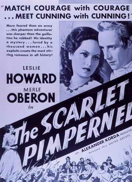 The Scarlet Pimpernel - 11 x 17 Movie Poster - Style B
