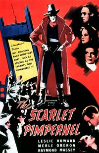 The Scarlet Pimpernel - 11 x 14 Movie Poster - Style A