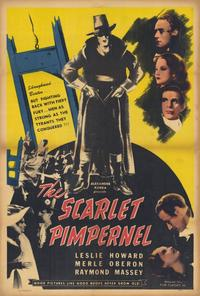 The Scarlet Pimpernel - 27 x 40 Movie Poster - Style A
