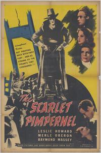 The Scarlet Pimpernel - 43 x 62 Movie Poster - Bus Shelter Style A
