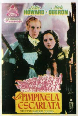 The Scarlet Pimpernel - 11 x 17 Movie Poster - Spanish Style A