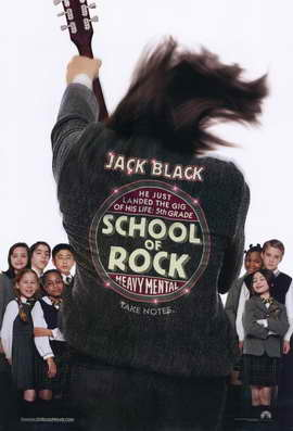 The School of Rock - 11 x 17 Movie Poster - Style B