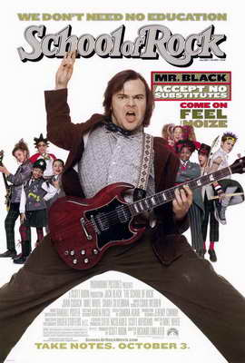 The School of Rock - 27 x 40 Movie Poster - Style A