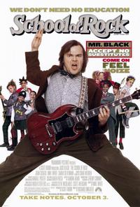 The School of Rock - 11 x 17 Movie Poster - Style A - Museum Wrapped Canvas