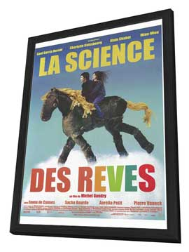 The Science of Sleep - 27 x 40 Movie Poster - French Style A - in Deluxe Wood Frame