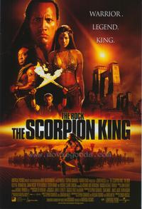 The Scorpion King - 43 x 62 Movie Poster - Bus Shelter Style B