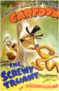 The Screwy Truant - 43 x 62 Movie Poster - Bus Shelter Style A
