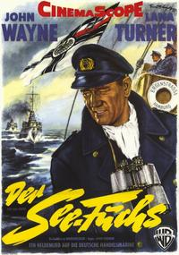 Sea Chase - 11 x 17 Movie Poster - German Style A