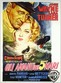 Sea Chase - 27 x 40 Movie Poster - Italian Style A