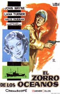 Sea Chase - 11 x 17 Movie Poster - Spanish Style B