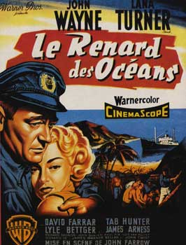Sea Chase - 11 x 17 Movie Poster - French Style A