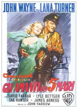Sea Chase - 11 x 17 Movie Poster - Italian Style B