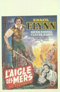 The Sea Hawk - 14 x 22 Movie Poster - Belgian Style A