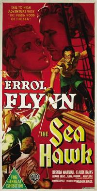 The Sea Hawk - 27 x 40 Movie Poster - Style B